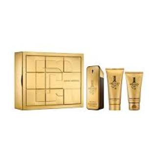 Paco Rabanne 1 Million Men darková sada -  Eau de Toilette 100 ml + sprchový gel 100 ml + balzám po holení 75 ml