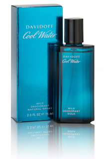 Davidoff Cool Water Men deodorant sklo 75 ml