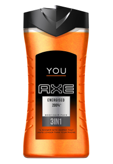 Axe You Energised sprchový gel 250 ml