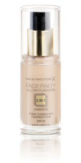 Max Factor Facefinity All day Flawless 3 in 1 Foundation Warm Almond 45 makeup 30 ml