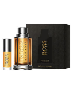 Hugo Boss Boss The Scent Men dárková sada - Eau de Toilette 100 ml + Eau de Toilette 8 ml