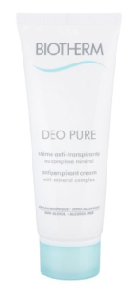Biotherm Deo Pure antiperspirant krém 75 ml