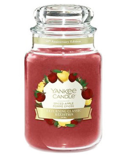 Yankee Candle Classic Spiced Apple Limited Edition vonná svíčka 623 g