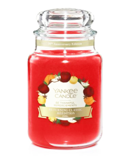 Yankee Candle Classic Be Thankful Limited Edition vonná svíčka 623 g