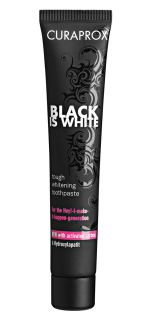 Curaprox Black is White Fresh Lime-Mint zubní pasta 90 ml