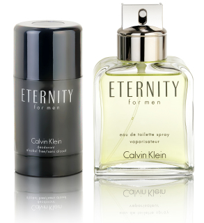 Calvin Klein Eternity for Men dárková sada - Eau de Toilette 100 ml + deostick 75 ml