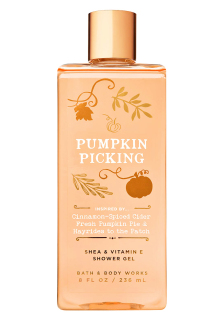 Bath & Body Works Pumpkin Picking shower gel 236 ml