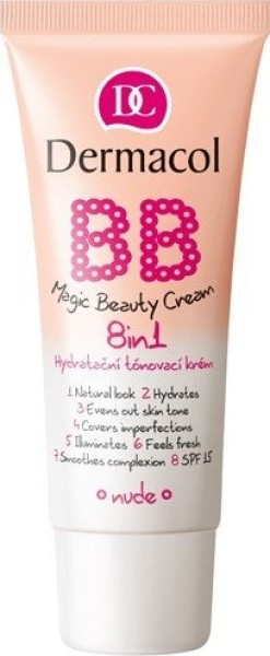 Dermacol BB Magic Beauty Cream - BB krém na obličej 8v1